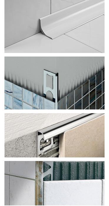 Edilizia milano indoor edilizia d 39 interni complementi - Profili jolly per piastrelle ...