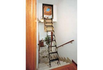 Edilizia milano roof prodotti da tetto scale retrattili - Scale a botola da soffitto ...
